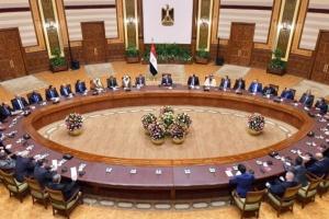 الرئيس المصري يجتمع مع رؤساء أجهزة المخابرات المشاركين في المنتدى العربي الاستخباري