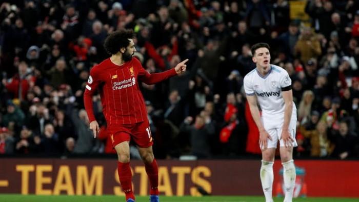 ليفربول يفوز على وست هام بثلاثية