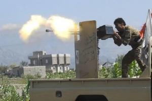 فرار جماعي لمليشيا الحوثي من جبهات القتال شمالي الضالع