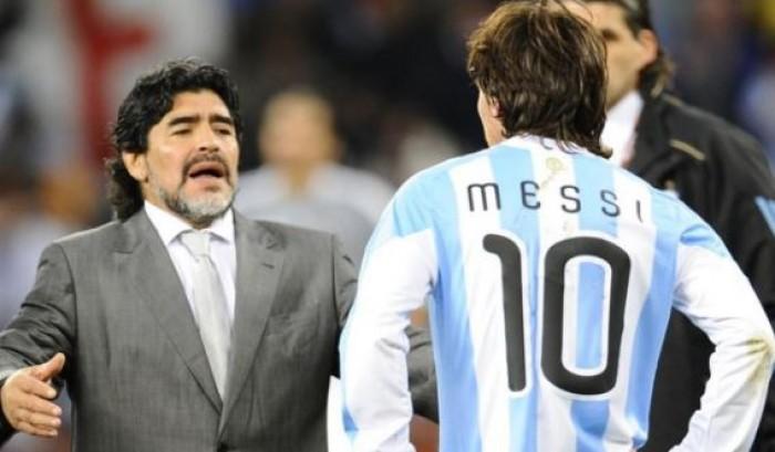 مارادونا : ميسي لا يستطيع تحقيق ما فعلته