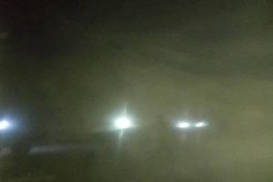 الموجة الغبارية تصل إلى حضرموت وتحذيرات من انخفاض الرؤية (صور)