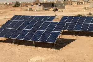 بمضخات مياه.. السعودية تدعم الإنتاج الزراعي في الجوف