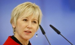 وزيرة الخارجية السويدية في عدن