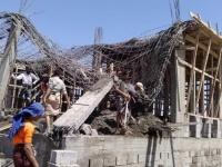 أوقاف لحج تحقق في انهيار مسجد الحاسكي