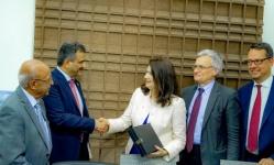 """أمين """"الانتقالي"""" لوزيرة خارجية السويد: اتفاق الرياض يمهد للسلام والشرعية تعطله"""