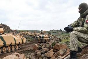 مقتل وإصابة 10 من قوات النظام السوري في قصف تركي بمنبج
