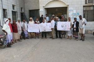 كوادر مستشفى زنجبار يقررون التصعيد لإقالة قيادات الصحة
