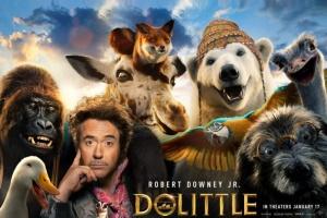 """إيرادات """"Dolittle"""" ترتفع إلى أكثر من 205 ملايين دولار"""
