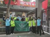 مشاركة تطوعية من المقيمين بالصين في مكافحة كورونا