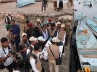 إطلاق مشروع تسليم القوارب للصيادين بالمكلا والشحر