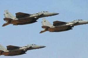 غارات من التحالف على مواقع الحوثي بالجوف