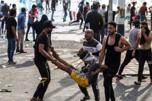 بغداد: مقتل متظاهر وإصابة آخرين نتيجة اشتباكات مع الأمن