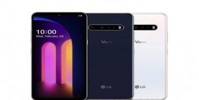 """""""إل جي"""" تزيح الستار عن هاتفها الذكي V60 ThinQ 5G الجديد"""