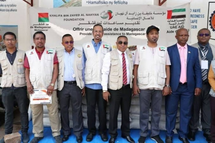 """مؤسسة """"خليفة بن زايد"""" تغيث 160 آلف متضرر من فيضانات مدغشقر"""