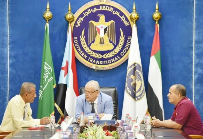اجتماع لبحث التعاون المشترك بين المجلس الانتقالي والمفوضية الجنوبية لمكافحة الفساد