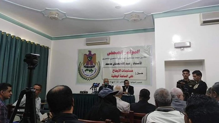 أمين التنظيم الناصري في تعز: هادي انقلابي والأحمر إرهابي