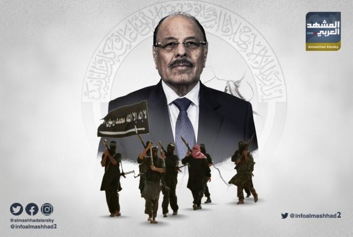الإرهابي محسن الأحمر.. جنرال عجوز أثقل كاهل الشرعية