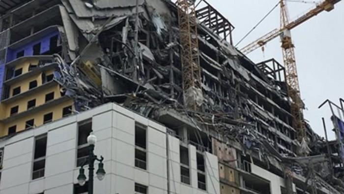 عاجل.. انهيار فندق شرقي الصين يستخدم في الحجر الصحي لمرضى كورونا