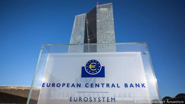 المركزي الأوروبي يطالب موظفيه بالعمل من المنزل بسبب كورونا