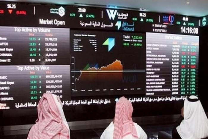 البورصة السعودية تغلق تداولاتها على ارتفاع قياسي