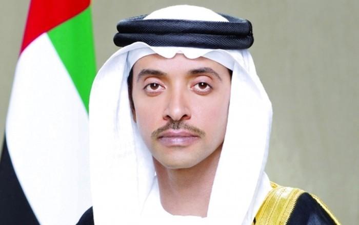 هزاع بن زايد يحتفي بعيد ميلاد ولي عهد أبو ظبي