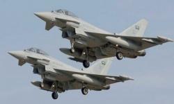 غارات جوية على تمركزات حوثية في 3 محافظات