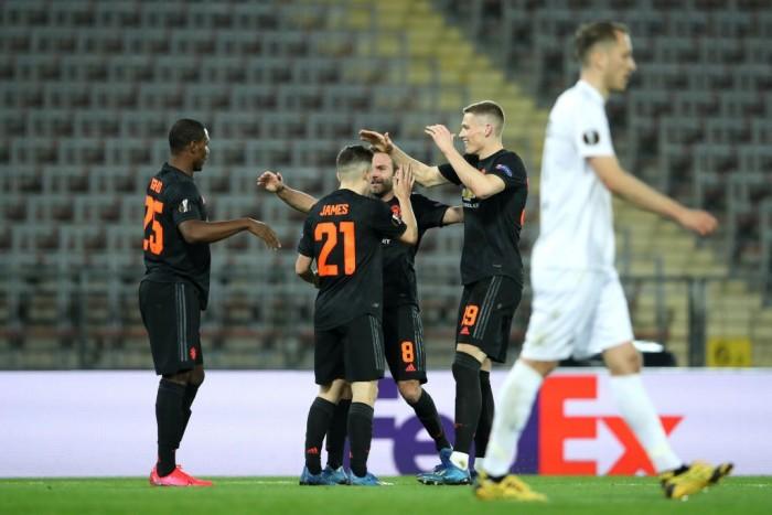 مانشستر يونايتد وبازل يقتربا من التأهل لربع نهائي الدوري الأوروبي