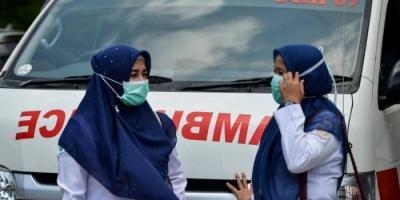 ارتفاع حالات الإصابة بكورونا في إندونيسيا إلى 69