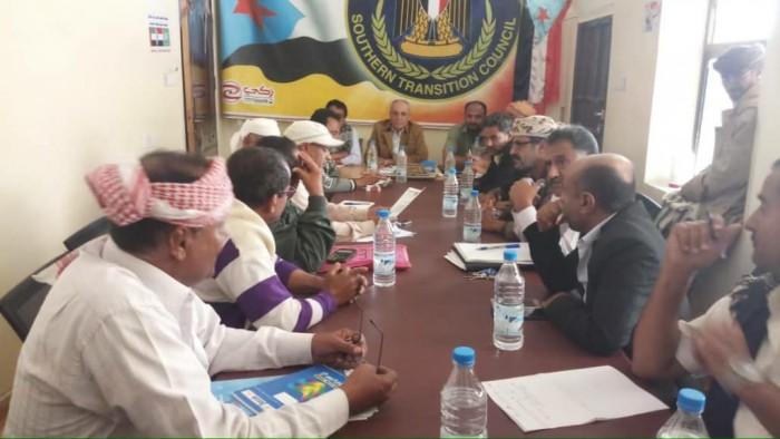 """""""انتقالي الضالع"""" يطالب باليقظة لمواجهة المؤامرات الإخوانية الحوثية"""