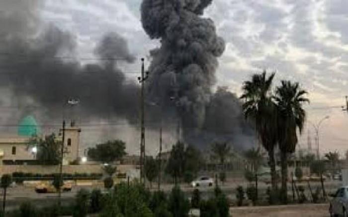 إصابة شخصين إثر سقوط صاروخين كاتيوشا بوسط بغداد
