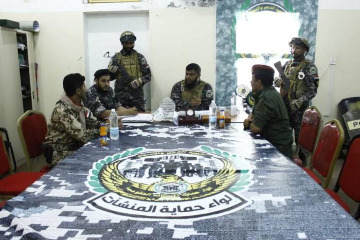 تنسيق أمني بين قوات النخبة الشبوانية والمهام الخاصة وحماية المنشآت