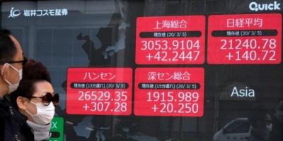 المؤشر نيكي الياباني يتراجع إلى أدنى مستوى في 3 سنوات
