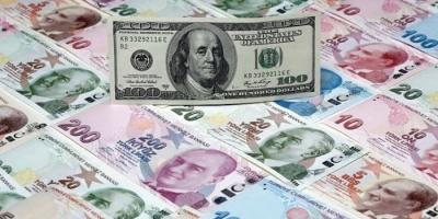 الليرة التركية تصاب بهبوط حاد أمام الدولار وتسجل أدنى مستوى في 18 شهر