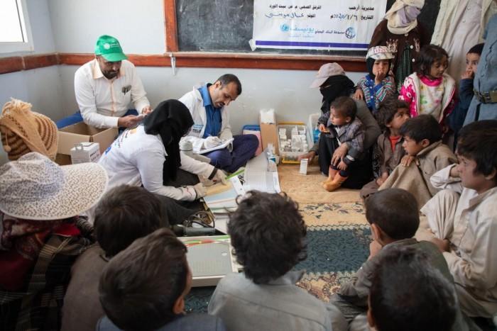 يونيسف: مشروع الصحة والتغذية يدعم 2000 مرفق في اليمن