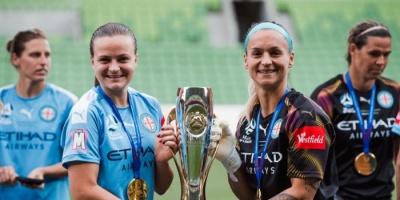 ملبورن سيتي يتوج بدوري كرة القدم النسائية في أستراليا