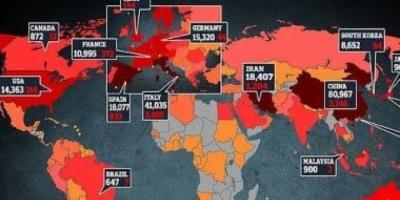 وكالة الصحافة الفرنسية: أكثر من 12 ألف وفاة بفيروس كورونا في العالم