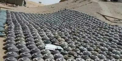 نزع 8776 لغما حوثيا في مارس الشهر الجاري