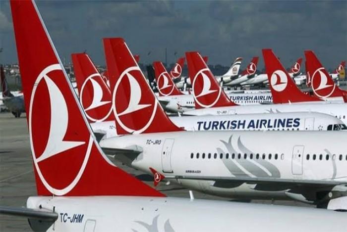 بعد تفشي كورونا.. طائرات الخطوط الجوية التركية خارج نطاق الخدمة