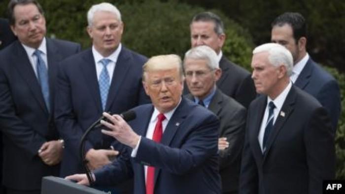 ترامب: نحشد كل مواردنا لمكافحة «الفيروس الصيني»