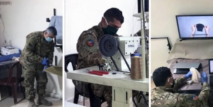 الجيش اللبناني يصنع كمامات طبية للوقاية من «كورونا»