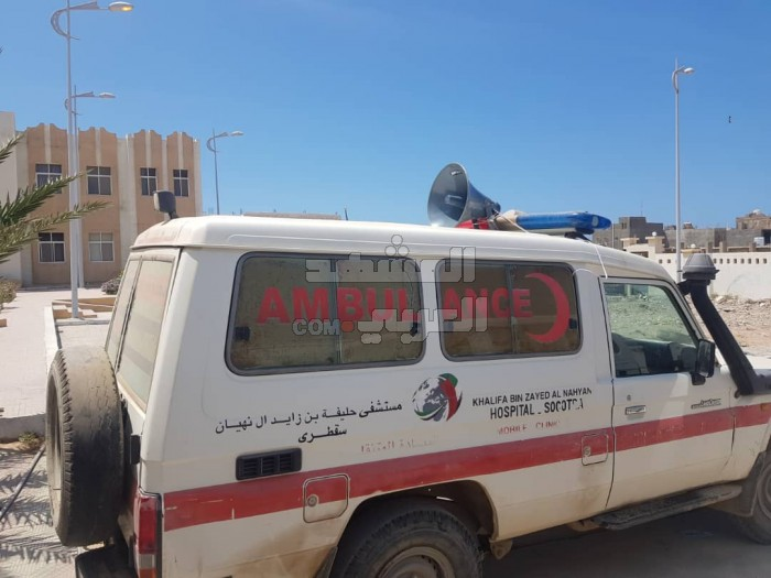 مستشفى خليفة يحمي سقطرى من كورونا بحملات توعوية (صورة)