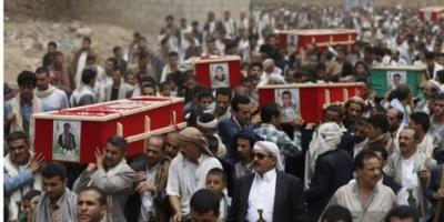 مواكب الموت الحوثي.. قتلى ذمار تفضح انكسار المليشيات