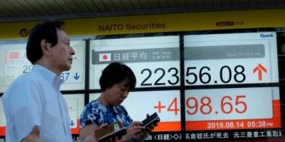 في بورصة طوكيو.. نيكي الياباني يتراجع بنسبة 1.60%