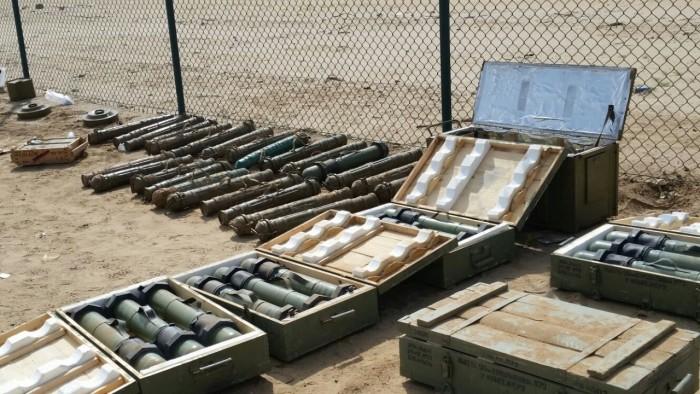 ضبط شحنة المتفجرات.. صفعة عسكرية على وجه الحوثيين