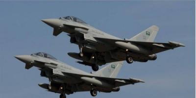 قصف جوي على أهداف حوثية في صعدة
