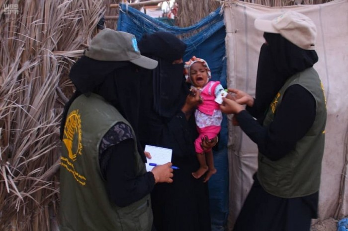 """""""سلمان للإغاثة"""": علاج 26 ألف حالة سوء تغذية"""