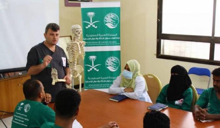 بدعم سعودي.. اختتام دورة بمأرب لتعزيز مهارات العاملين بالأطراف الصناعية