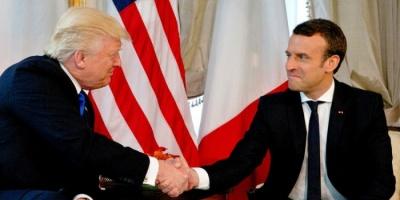 ماكرون يؤكد العمل مع ترامب على مبادرة جديدة بخصوص «كورونا»