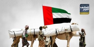 إنسانية الإمارات تسير على أشواك الطرقات والإخوان (ملف)