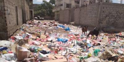 أهالي جعار يستغيثون من مثلث كورونا والمجاري والقمامة